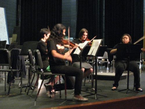 Symphonic quartet